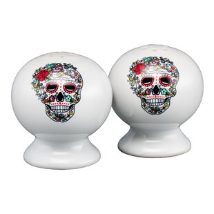 Skull and Vine Sugar Salt and Pepper Set