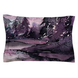 Ebi Emporium 'Never Leave the Path 6' Watercolor Sham