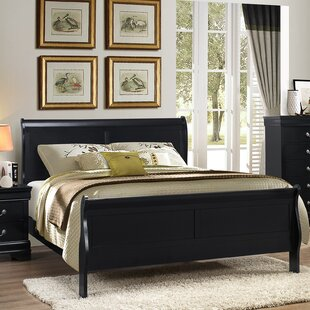 Isony 594 Louis Philippe Sleigh Bed