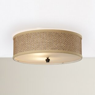 Crane 3-Light Flush Mount by Beachcrest Home