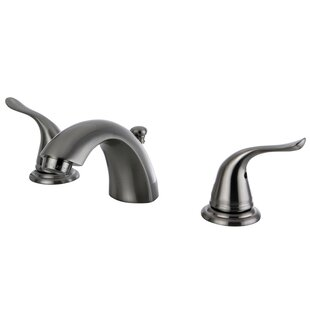 Kingston Brass Yosemite Mini Widespread Bathroom Faucet with Pop-Up Drain