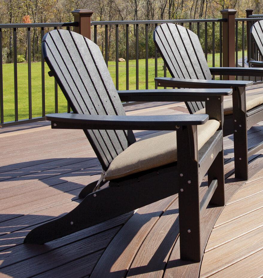 Beau Trex Cape Cod Plastic Adirondack Chair U0026 Reviews   Wayfair