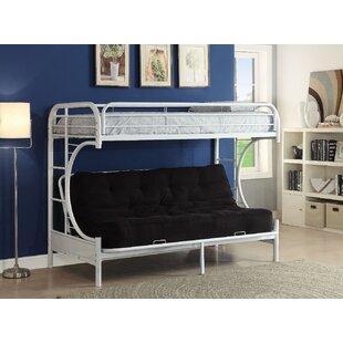 Zoomie Kids Kimble Twin XL over Queen Futon Bunk Bed