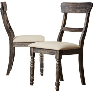 Erondelle Ladderback Side Chair (Set of 2) by Lark Manor