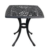 Wetherell Aluminum Side Table