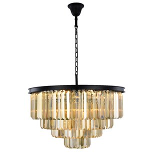 Whipton 17-Light Crystal Chandelier by Everly Quinn
