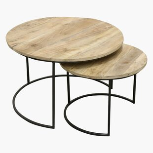 2 Piece Coffee Table Set By Borough Wharf