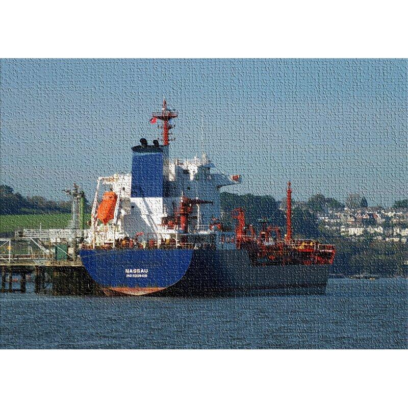 East Urban Home Ship Blue Area Rug Wayfair