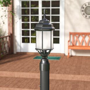 Buy clear Bayou 1-Light Outdoor Post Light By Three Posts