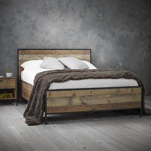 Deals Price Terrence Double (4'6) Bed Frame