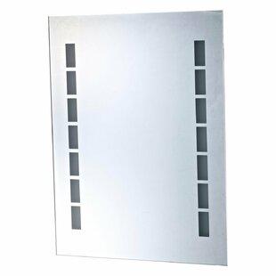Dustproof LED Light Illuminated Bathroom Mirror