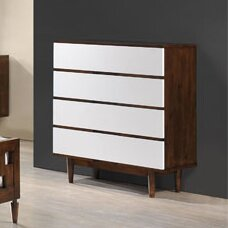 Brayden Studio Elswick High 4 Drawer Chest