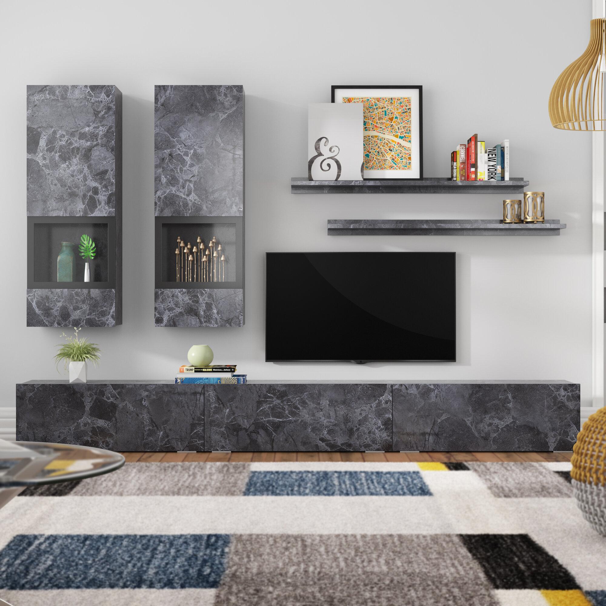 online retailer f3b07 265b8 Carlotta Entertainment Unit for TVs up to 78