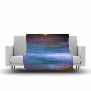 Top Ebi Emporium Resonance 1 Painting Fleece Blanket ByEast Urban Home