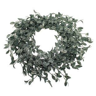 Glittered Honeysuckle 50cm Artificial Wreath Image