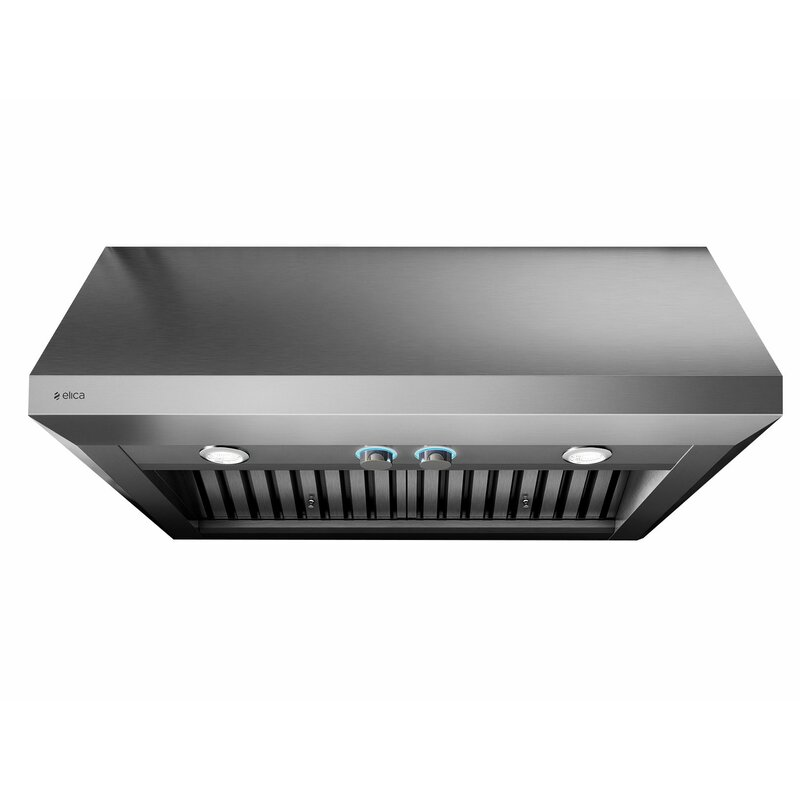 Elica 36 Pro Series 1200 Cfm Ducted Wall Mount Range Hood Wayfair