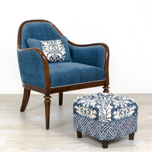 Devizes Armchair and Ottoman