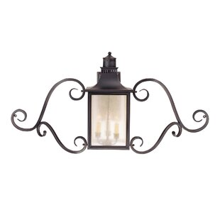 Inexpensive Kennett 3-Light Outdoor Wall lantern By Laurel Foundry Modern Farmhouse