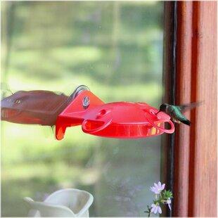 Garden Song Window Mount Hummingbird Feeder