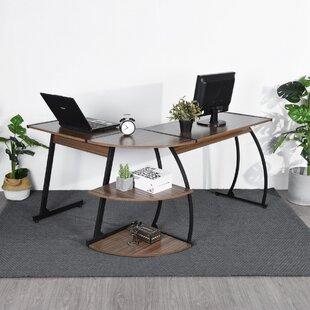 Aiso L-Shape Computer Desk By 17 Stories