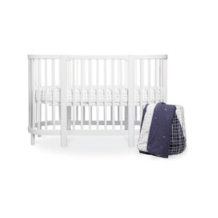 Read Reviews Hula Galaxy Oval Fitted Crib Sheet Bybabyletto