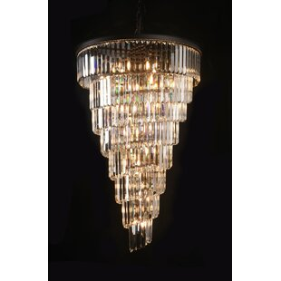 Rosdorf Park Anton 36-Light Crystal Chandelier
