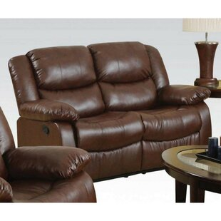 Nagao Upholstered Reclining Loveseat by Winston Porter