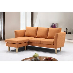 Maisie Modern Compact Reversible Sectional by Turn on the Brights