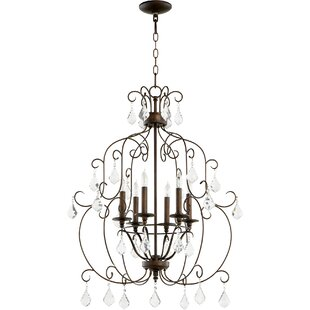 Richland 6-Light Chandelier by Ophelia & Co.