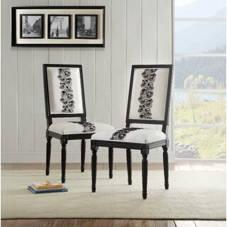 Andrews Rose Side Chair (Set of 2) by House of Hampton SKU:DB977838 Details