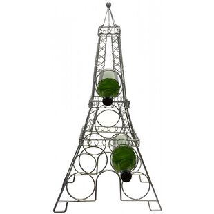 Eiffel Tower 6 Bottle Tabletop Wine Rack ..