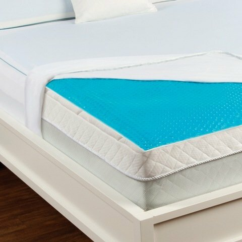 - Luxury Home Hydraluxe Cooling Gel Bed Mattress Pad Wayfair