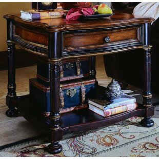 Best Reviews Preston Ridge End Table with Storage By Hooker Furniture