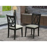 Gérald Solid Wood Dining Chair (Set of 2) by Winston Porter