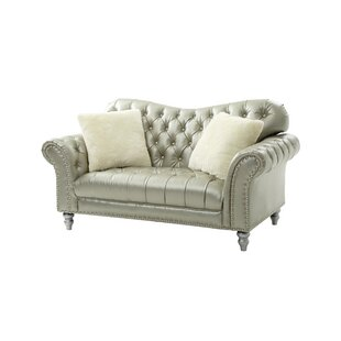 Affordable Price Malmesbury Loveseat by House of Hampton Reviews (2019) & Buyer's Guide