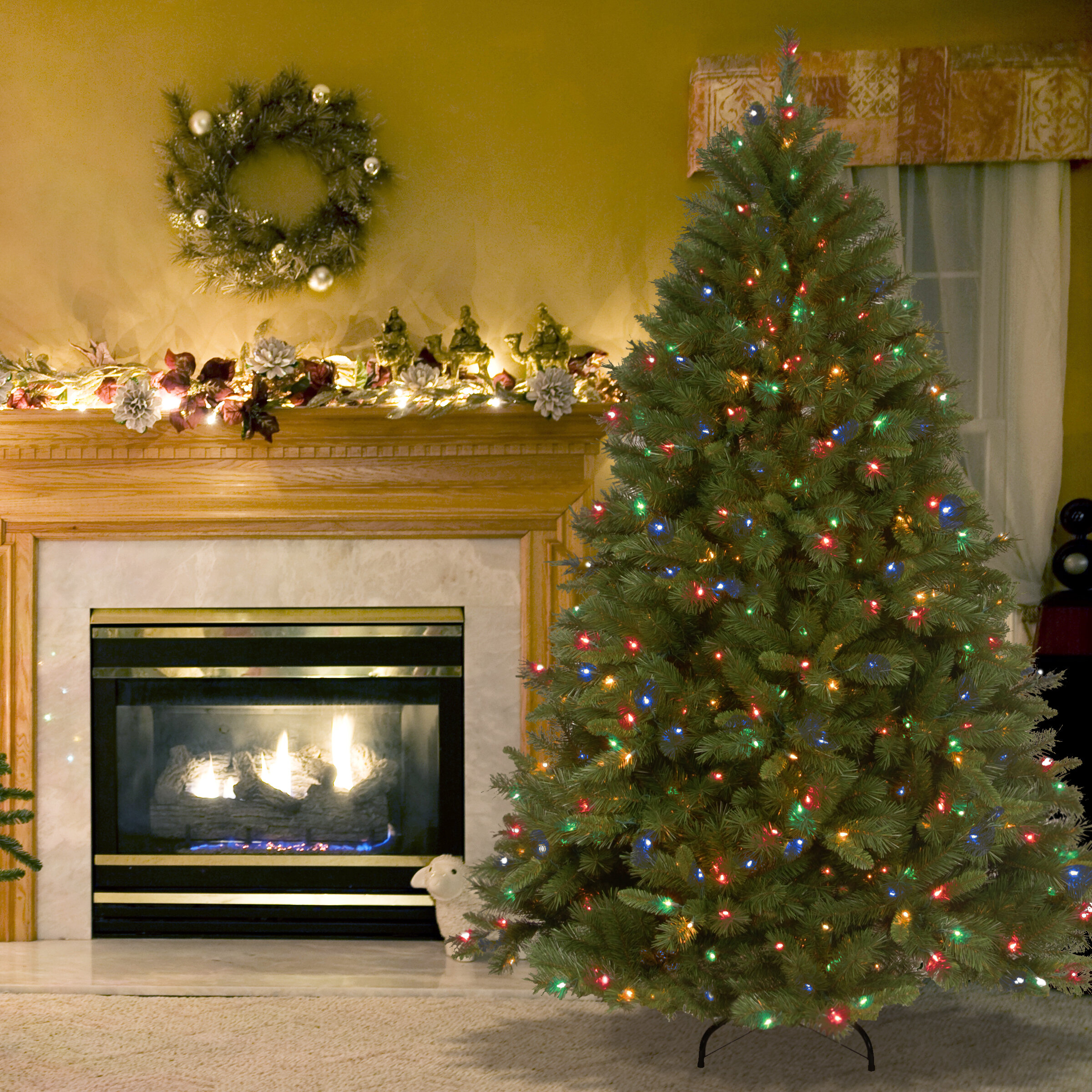 National Tree Co Winchester Pine 7 5 Green Artificial Christmas