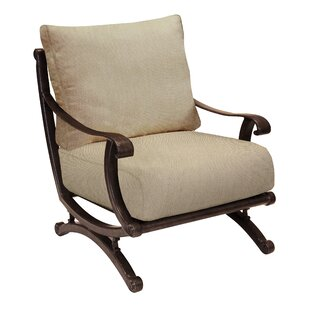Leona Rialto Patio Chair with Cushion