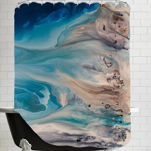 The Shore Beckons 2 Single Shower Curtain