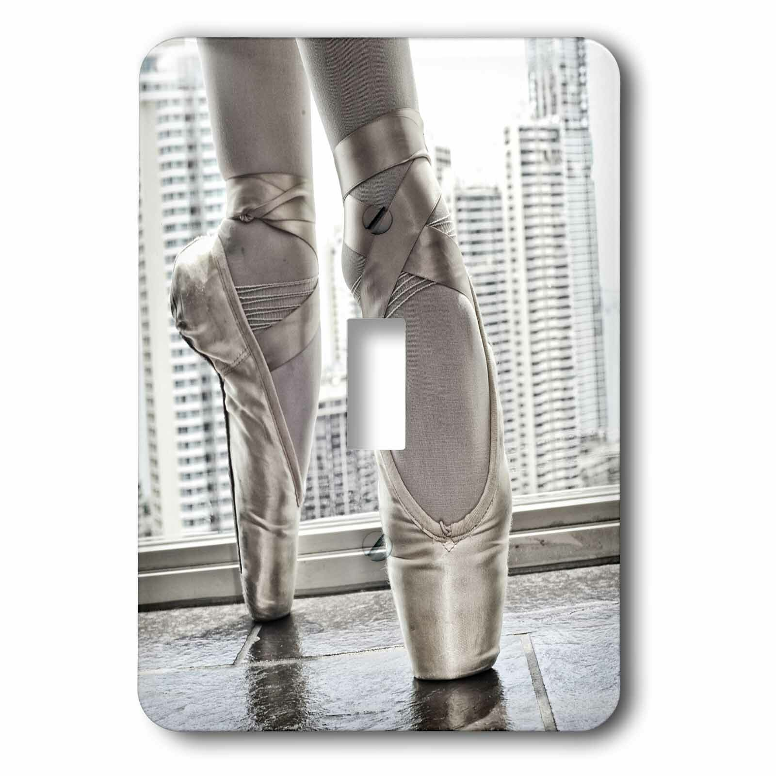 3drose Ballerina Pointe Shoes 1 Gang Toggle Light Switch Wall Plate Wayfair