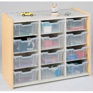 Compare & Buy 1000 Series 12 Compartment Cubby with Bins ByTotMate