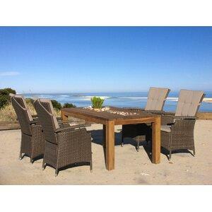 4-Sitzer Gartengarnitur Lanzarote mit Kissen von Grasekamp