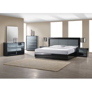 Ashish Contemporary Platform Configurable Bedroom Set