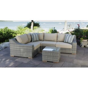 Madbury Road Corsica 5 Piece Sectional Set with Cushions