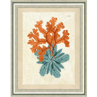 Teal And Orange Wall Art | Wayfair