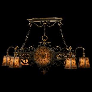 Fine Art Lamps Epicurean 6-Light Shaded Chandelier