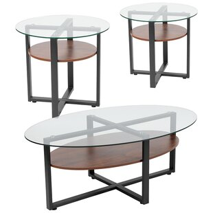 Joe 3 Piece Coffee Table Set