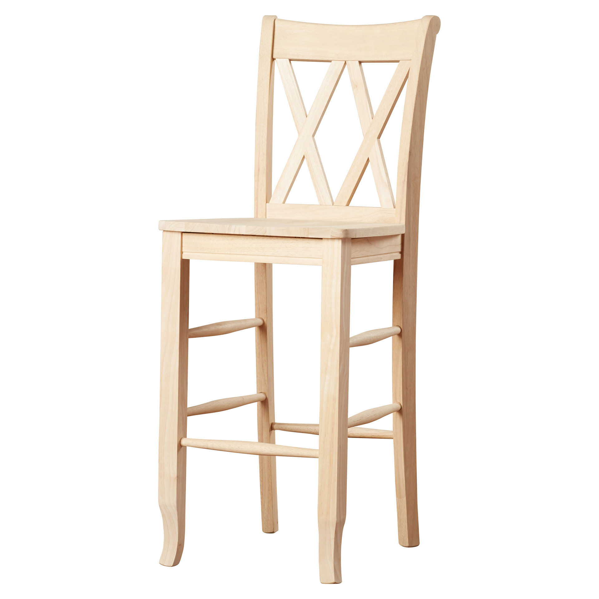 Mistana Lynn 30 Wood Bar Stool Reviews Wayfair