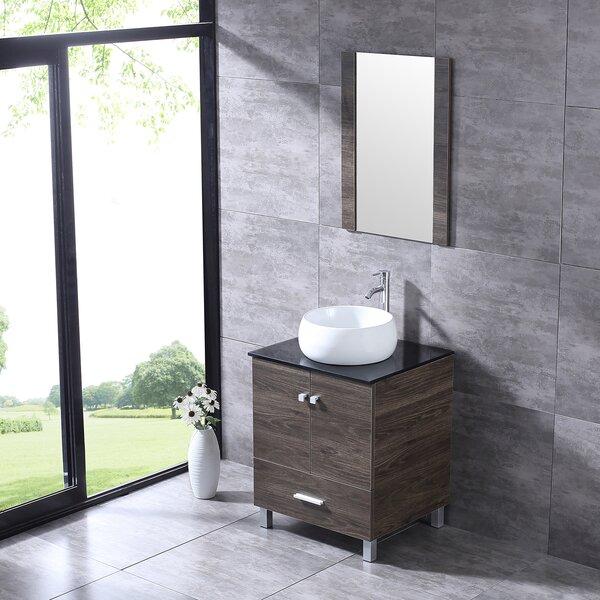 "Ebern Designs Aldi 24""Single Bathroom Vanity Set with ..."