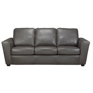 Delta Italian Standard Leather Sofa