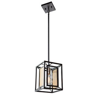 Chadwick 1-Light Square Pendant by Artcraft Lighting